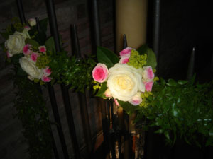 Examples of flower decorations